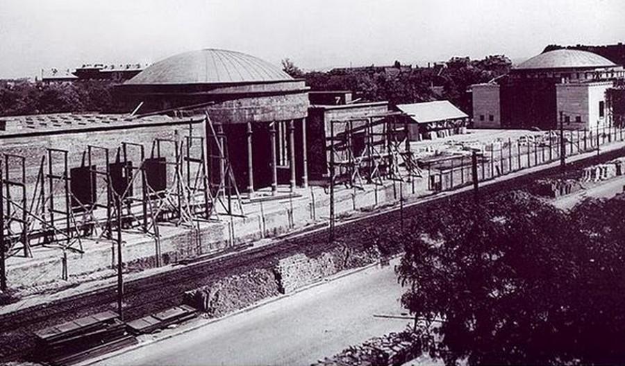 1952. Az eredeti Népstadion metroállomás.jpg