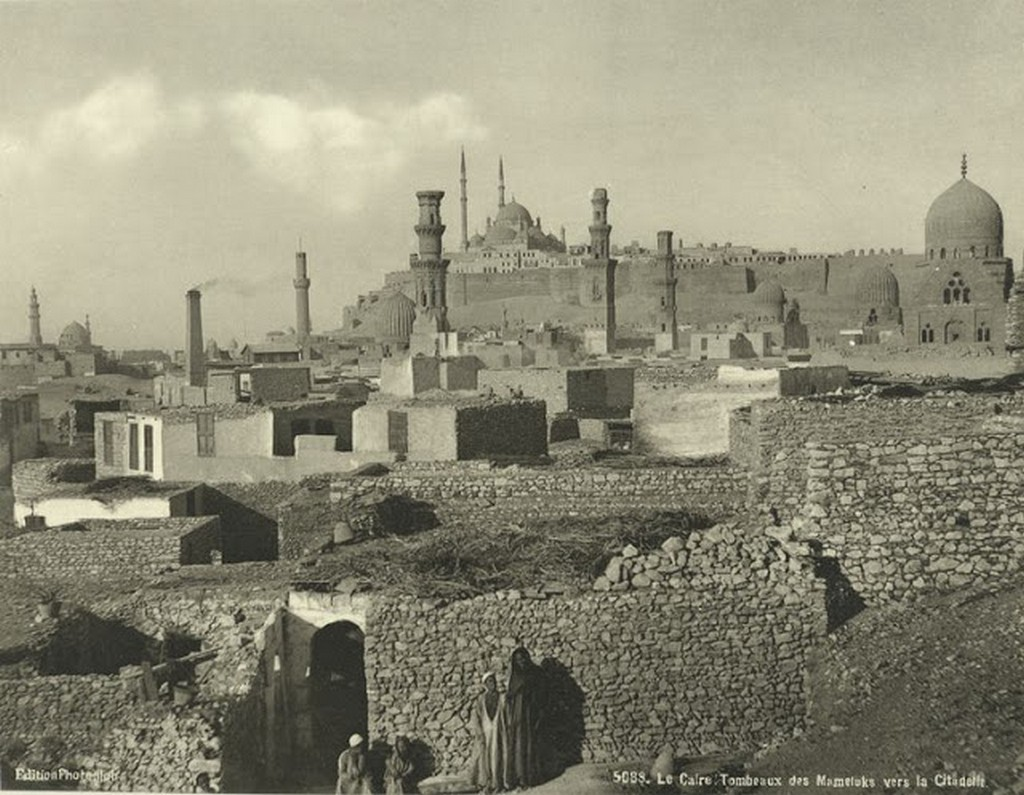 Tombs of the Mamelukes to the citadel, Cairo.jpg