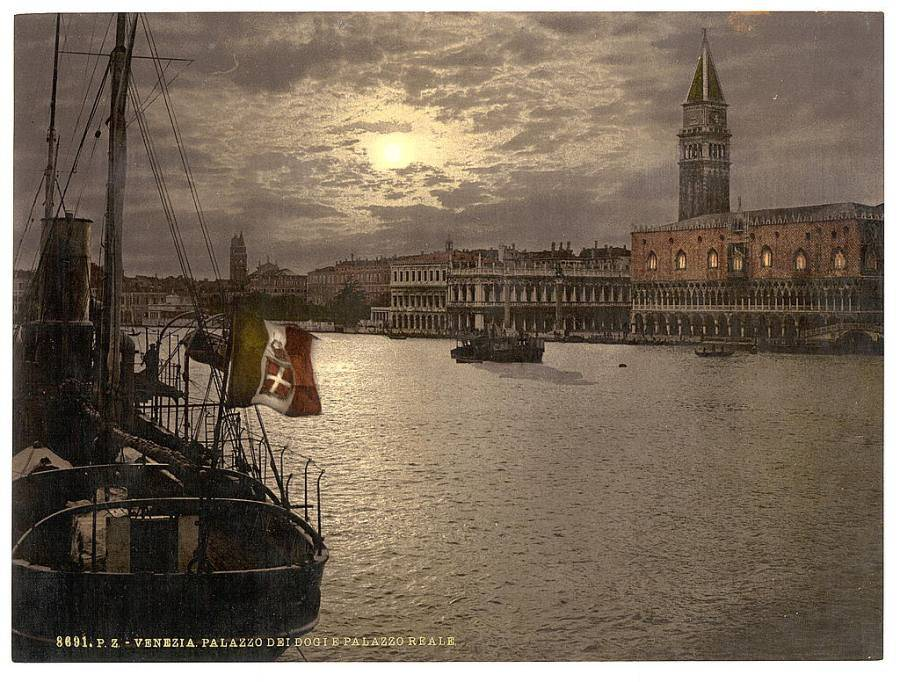 Grand Canal and Doges' Palace by moonlight.jpg