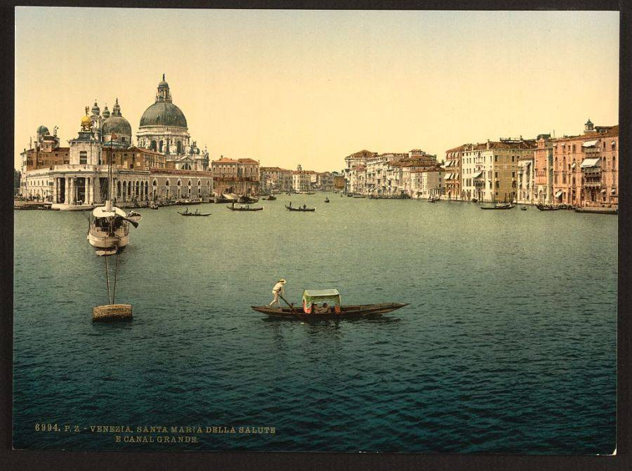The Grand Canal, Santa Maria della Salute.jpg
