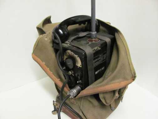 A Signar Corps Lab SCR-194 hordozható katonai telefonja