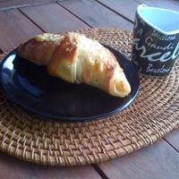 Párizsi reggeli: Nutellás croissant