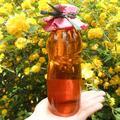 Cseresznyevirág-szörp hibiszkusszal