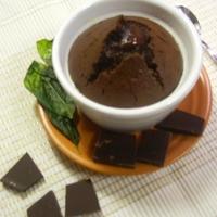 Furcsa páros: Bazsalikomos csokoládé-szuflé