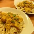 Kókusz curry vegásan