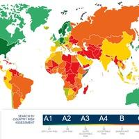 Hol található Magyarország a rizikótérképen?