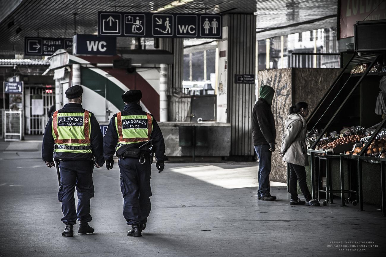 Rendőrökkel, vasútőrökkel és vasutasokkal találkozhatunk
