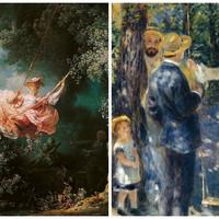 Művészet és Történelem - Renoir és Fragonard hintája