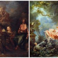 Művészet és történelem - Antoine Watteau és az aranyruhás hölgy