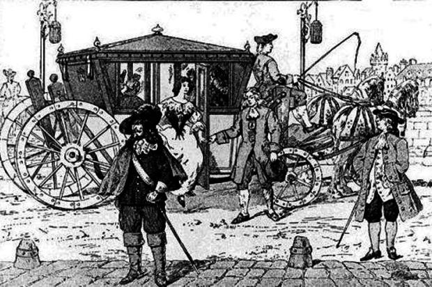 """Az """"öt sou-s kocsi"""", azaz a világ első városi tömegközlekedési eszköze"""