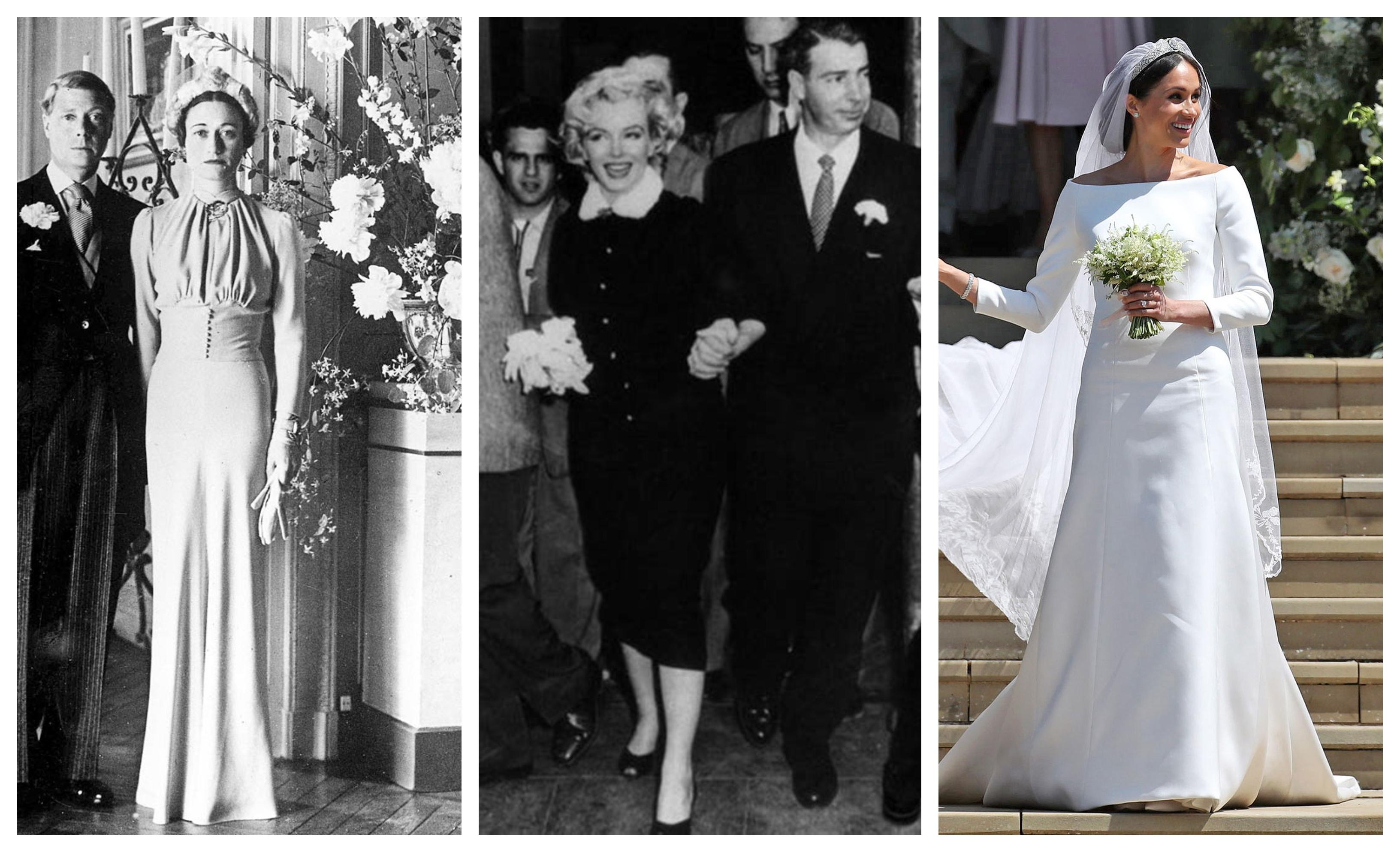 12 ikonikus esküvői ruha a történelemből - Rizsporos hétköznapok a33b995222