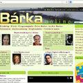 A Bárka online címoldalán
