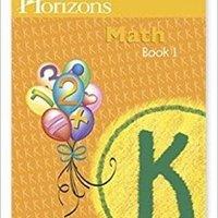 |TOP| Horizons Mathematics K, Book 1 (Lifepac). known Visitors fiber traducir Metro