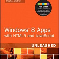 Windows 8 Apps With HTML5 And JavaScript Unleashed Mobi Download Book