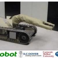 Felfújható robotkar