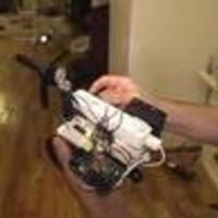Tűzoltó robot Wiimote szenzorral