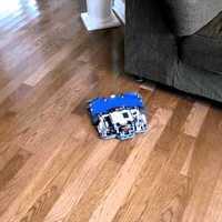 LEGO robotporszívó