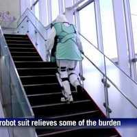 Exoskeleton atomerőműbe