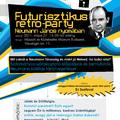 Futurisztikus retro-party Neumann János nyomában