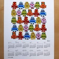 Robotnaptárak 2010
