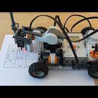 Sudokuzó LEGO robot