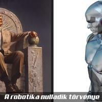 Mit jelent a robotika nulladik törvénye Asimovnál?