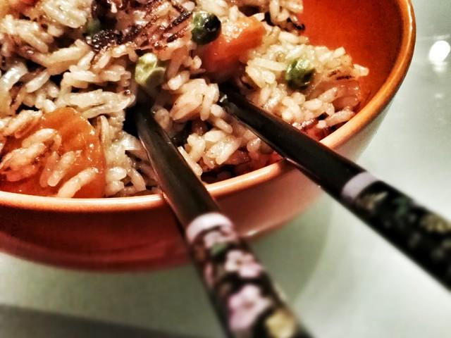 sült rizs extra