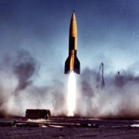 A Nácik V-2-es rakétájának amerikai tesztjei