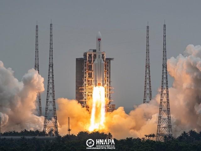 Pályára állt a kínai űrállomás első modulja.