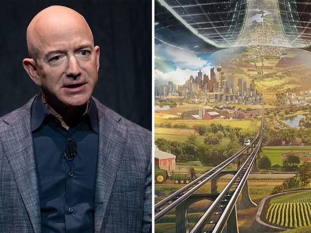 Jeff Bezos nagyívű elképzelése a jövő űrállomásáról