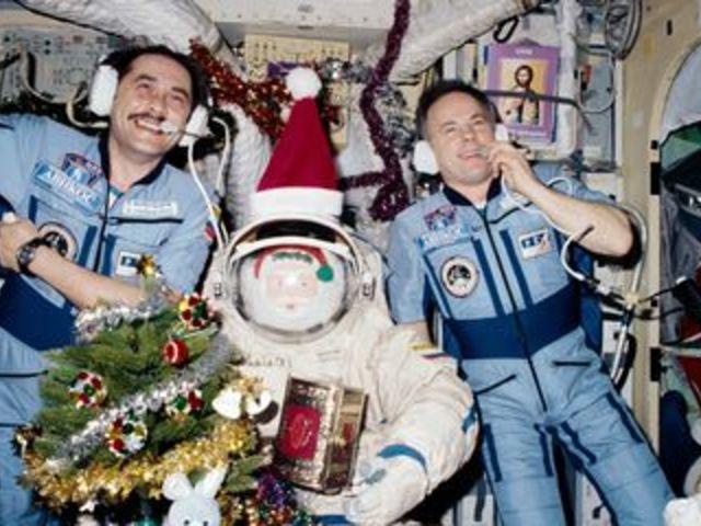 Hogyan konyakozhattak a Mir űrhajósai?