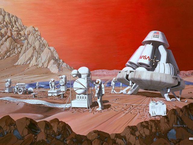 Az megvan amikor a Nasa a marsi űrhajót a világűrben akarta megépíteni?
