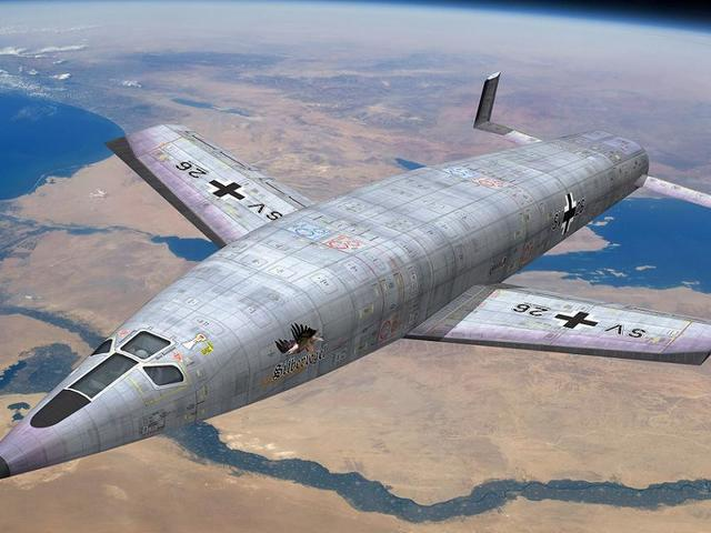 A Harmadik Birodalom űrrepülőgépe
