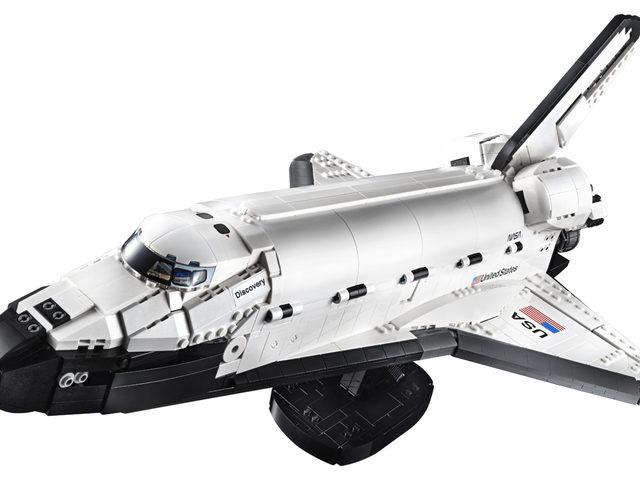 A LEGO a Space Shuttle 40. évfordulója előtt tisztelegve elkészítette a Discovery Űrsiklót
