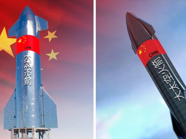 Kína lemásolhatja a SpaceX Csillaghajót.
