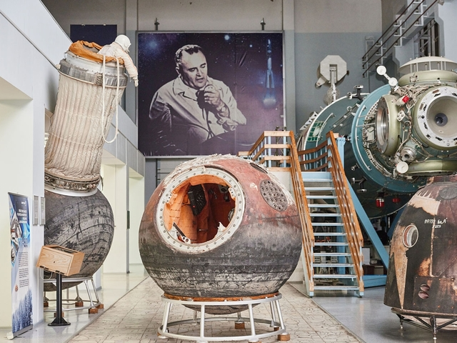 Látogatás az orosz űrkutatási múzeumban
