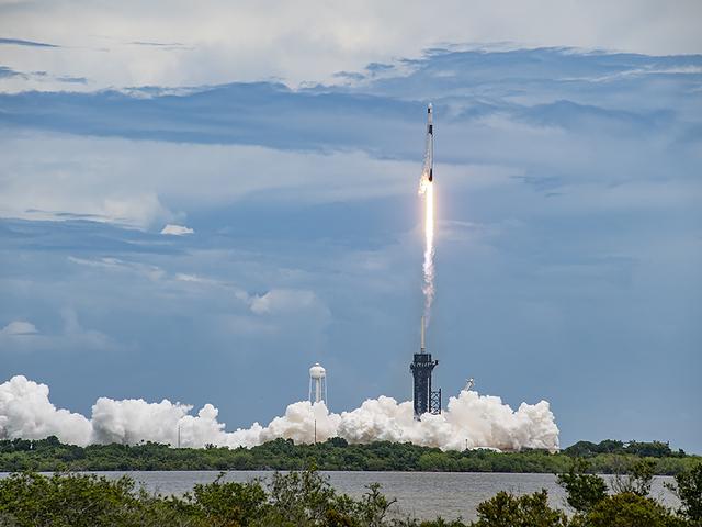 Tintahalakkal a fedélzeten és új napelemmel a csomagtartóban indult az ISS-hez a SpaceX Falcon 9 rakéta.