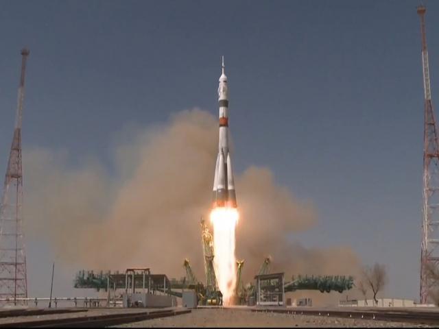 Felszállt a Jurij Gagarin-ra keresztelt Szojuz.