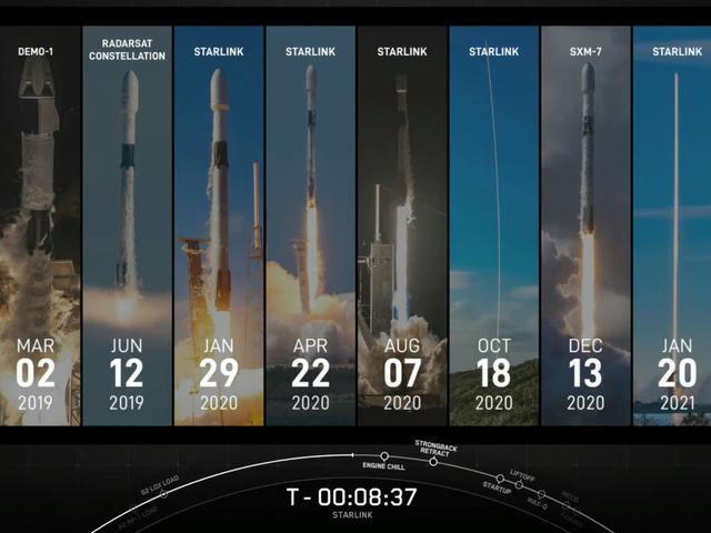 SpaceX Starlink 22 küldetés és landolás