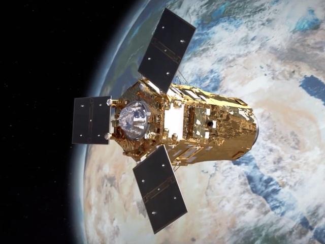 ArianeSpace Soyuz ST-A Fregat-M az Emirátusok katonai műholdjával