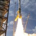 Banán rakétának is csúfolt Minotaur I indítás.