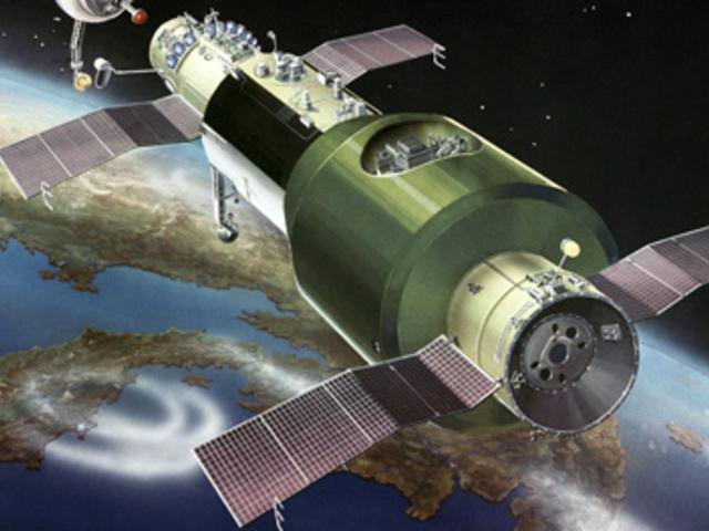 50 éve állt pályára az első űrállomás a Szaljut 1