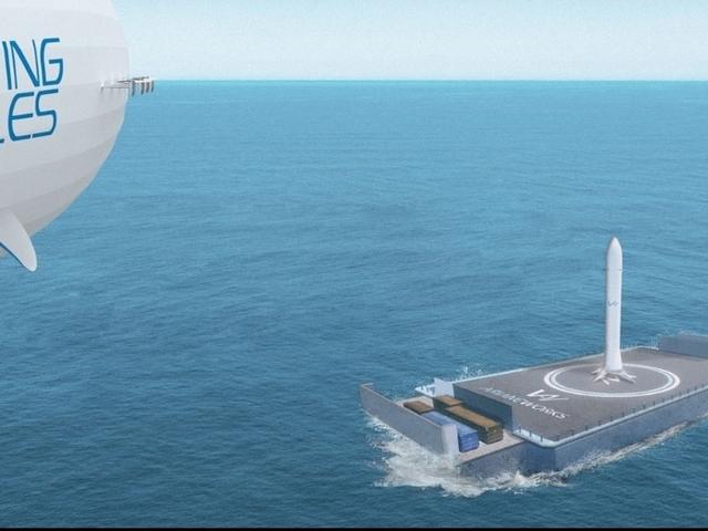 Új Léghajós rakétaszállítási koncepció Európából