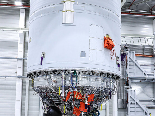 Elkészült az első Vinchi motorral szerelt Ariane 6 végfokozat