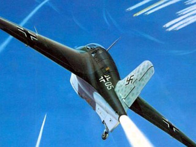 A Harmadik Birodalom rakétameghajtású repülőinek hajtóművei
