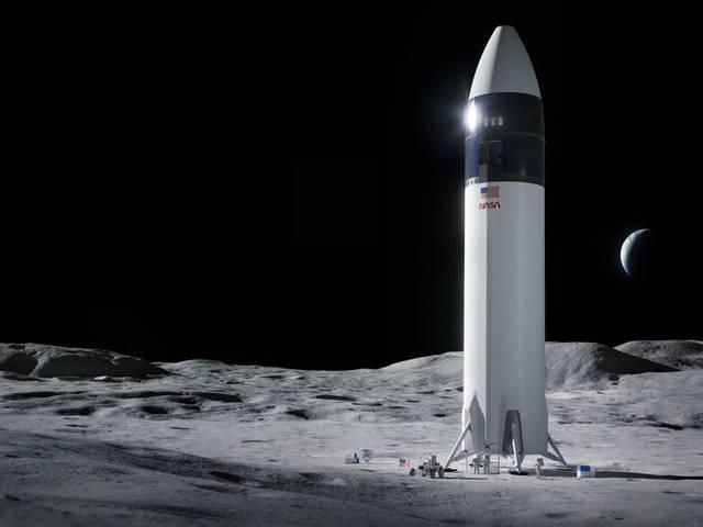 A SpaceX nyerte a NASA Hold landoló szerződését!