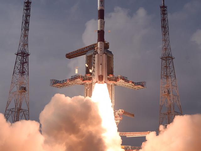Sikeres Indiai PSVL rakétaindítás