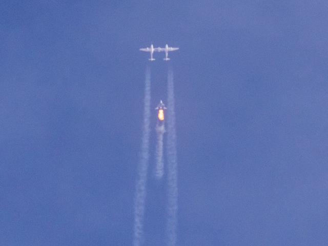 Virgin Galactic sikertelen tesztrepülést hajtott végre.