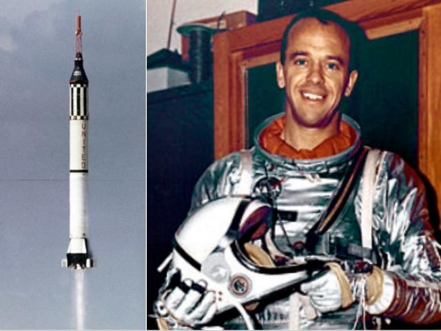 60 évvel ezelőtt Alan Shepard lett az első amerikai az űrben