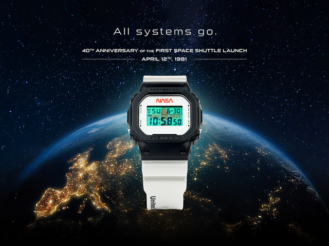 Limitált kiadású óra az Űrsikló 40. évfordulójára